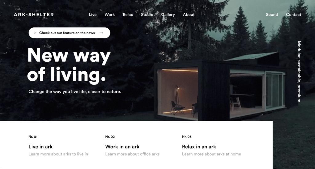 Typography_Ark Shelter